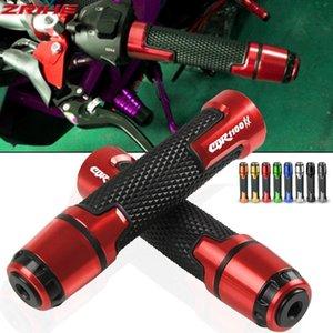 """Para los accesorios de la motocicleta CBR1100XX 7/8"""" extremos de agarre de goma de 22 mm Mango apretones de manillar de la motocicleta Con CBR1100XX LOGO"""