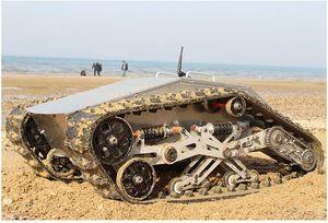 880T Гусеничный робот Tank Шасси RC Смарт гусеничный танк Платформа Перекрестная помеха Машина с Max Load 100кг