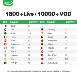 3month абонемент IPTV 6 месяцев 12 месяцев для аравийского французского использования с ссылкой m3u, Android TV Box