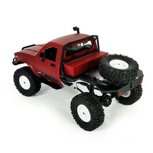 WPL C14 1:16 2CH 4WD Children 2.4G Off-Road Electric RC Truck 15km H Top Speed RTR KIT Mini Racing Car Toy Y200317