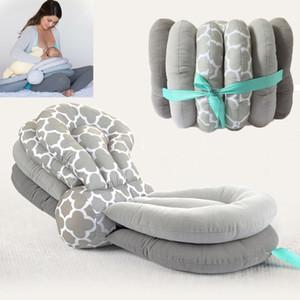 Nouveau multi-fonction bébé Coussin d'allaitement maternité Coussins d'allaitement pour nouveau-né Taille réglable Coton Dropship Coussin d'alimentation