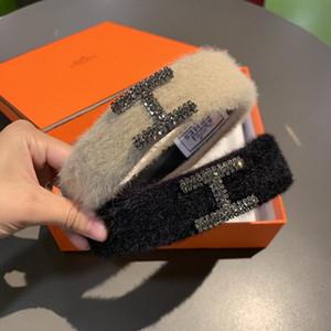Neues Produkt Imported Tschechische Haar Hoops Mink Fluffy Strickstirnband Top High-End-Mode Luxus Stirnband Fashion Jewelry Versorgung