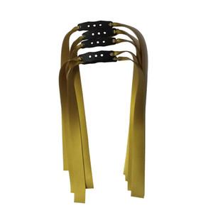 10pcs / lot 1mm de espessura Slingshot Rubber Band Plano utilizada na captura de ouro Pesca e banda de prata Slingshot látex de borracha