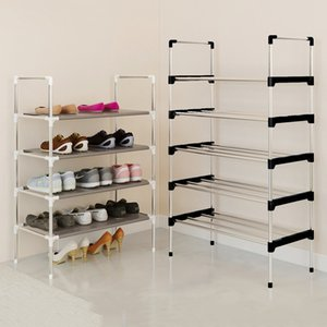 Moderno Minimalista Organizador de Muebles para el Hogar Armario Armario Plegable Creativo Multiusos propósito Estante de Zapatos Q190605
