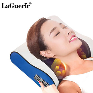 Shoulder Neck Massager Cervical Massager cintura almofada de volta multifunções Elétrica Massagem Pillow Household completa Massagem Corporal