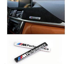 arabalar araba BMW m m3 m5 X1 X3 X5 X6 E46 E30 E39 E90 E92 e60 e36 F30 f10 aksesuarları 3D metal komik araba çıkartmaları üzerine Car-stil