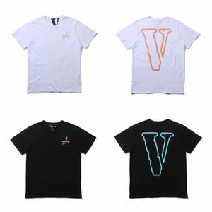 VLOONE T-shirt Das Mulheres Dos Homens Unisex camiseta Harajuku camiseta Hip hop Streetwear Marca Verão Roupas de Algodão Pólo Dançarina Menina Impressão Tees Tops