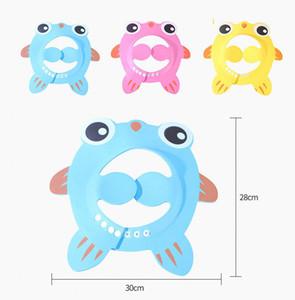 Ayarlanabilir Bebek Karikatür Duş Cap Güvenli Şampuan Duş Yıkanma Banyosu EVA Yumuşak Cap Bebek Yıkama Saç Shield Çocuk Yıkanma Şapka M979 koruyun