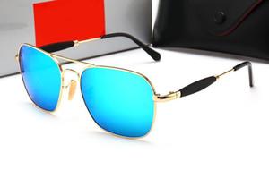 عالية الجودة نظارات رجالي شخصية نظارات مصمم إطار مربع النظارات الشمسية القيادة نظارات السفر 2168 مع حالة ومربع