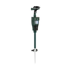 Risa Jardín Jet-Spray protector de estanque de jardín (activada por movimiento, Garza, Fox and Wildlife Repelente) automática giratoria ajustable de Gran Área