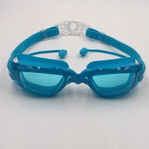 Estate di alta qualità Occhialini nuoto 544fre Occhialini da nuoto di clip impermeabile e spina orecchio antinebbia colori della struttura staccabile