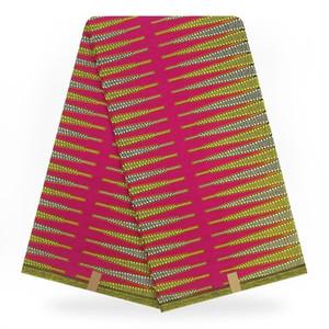 Vente chaude 100% coton Africain Hollandais Cire Africain Réel Hollandais Cire Tissus De Dentelle Nigérian ASO EBI Ankara Coton Imprimer Pagne