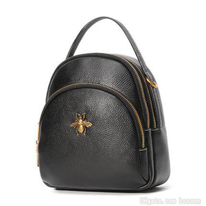 Famosa marca para mujer Mini mochila monedero bandolera diseñador cuero genuino mensajero bolsos bolsos envío gratis
