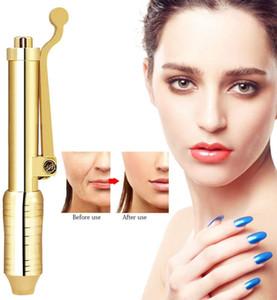 Multi Shoot oro Use hialurónico para anti arrugas del labio de elevación Sin aguja Máquina de belleza de labios Meso pistola de inyección con alta presión de llenado de la nariz