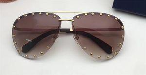 Yeni moda kadınlar tasarımcı güneş gözlüğü 0981 metal pilot hayvan çerçeve Elmas ile yılan şeklindeki bacaklar en kaliteli koruma gözlük 1109