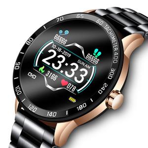 2019 Neue Smart-Uhr-Mann-wasserdichte Sport-Herzfrequenz-Blutdruck Fitness Tracker Smartwatch Pedometer reloj inteligente