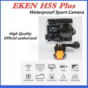3pcs Original EKEN H5S plus Waterproof DV EIS Native 4K Ultra HD Sports Camera WIFI HDMI 170 Wide Angle 2.4G Remote Multi-language