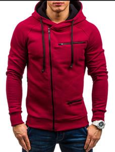 Nuovo Autunno Inverno Mens Designer Giacche Zipper Accessori Casual Slim Zipper Cardigan Felpa con cappuccio Capispalla Moda casual Abbigliamento uomo