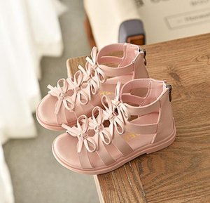Hot sell summer fashion Roman boots High-top girls sandals kids gladiator sandals toddler child sandals girls high quality shoes T200530