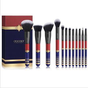 Makeup Brushes Set Docolor 12pcs Starlight Goddess Makeup Brush Kabuki Concealer Foundation Blending Blush Eyes Face Powder Cosmetic brush