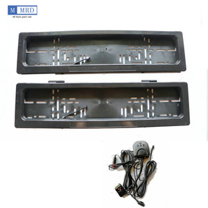 Dual Metal EU Remote Control Stealth Hide License Plate Frame Holder Curtain Car Show Brand New via DHL Fedex UPS
