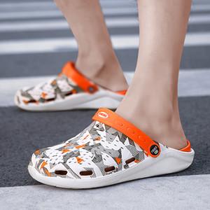 Hommes Sandals Crocks Literide Hole Chaussures Sandales Sandales pour Hommes Eva Unisexx Santon Hole Chaussures Jardin Crocse Adulto Cholas Hombre