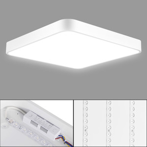 Por luz de techo 36W ultra delgado cuadrado LED Baño Cocina Sala de Día de la lámpara / caliente fresco regulable