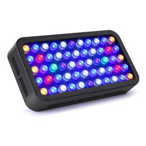LED-Aquarium beleuchtet Dimmbare Korallenriff LED-Licht 165W für Aquarium, Full Spectrum Korallenriff wachsen Licht Geeignet für 55-75 Gallon SÃ