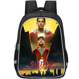 Billy Batson mochila DC Shazam mochila Asher Angel film schoolbag Photo print mochila