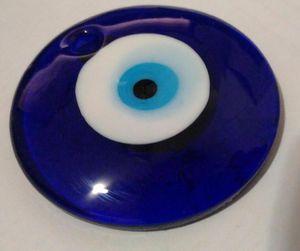 Verre en Vintage yeux bleu Turc mauvais oeil Charm 30MM Pendentifs Fit Charm Bracelets Collier bricolage main Accessoires Bijoux