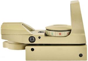 1x22x33 Red Green Dot-Gun Sight Sight Sight Reflex Vista con tren de 20 mm