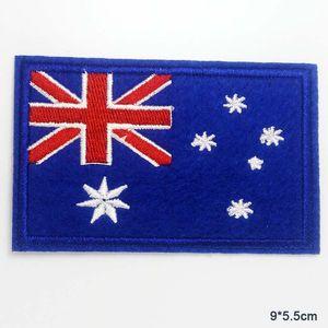 Avustralya Ulusal Bayrağı Yenilik İşlemeli Giyim Patch İçin Giyim Boys Man Kız Punk Patch Iron