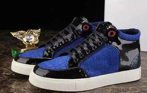 2019 Großhandel Neu eingetroffen Herren Sneakers Stone Grain Leder Royaums Stilvolle Outdoor Schnürschuhe Unisex Marke Komfortable Freizeitschuhe
