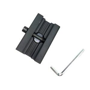 새로운 유니버셜 퀵 릴리스 Harris Bipod Adapter for Picitinny Mount 위버 레일 섹션 (21mm) Bipod 액세서리