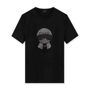 Mens T shirts 2020 Spring Summer New Brand Designers Short Sleeves Fashion Printed Eyes Tops Casual Outdoor Clothes 9 Colors TQ0