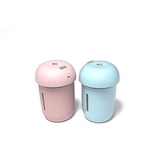 Usb Mini Umidificador Purificador de Ar Do Veículo Cogumelo Lâmpada Household Populares Umidificadores Chega Nova Criativo Com A Cor Diferente 23kz J1