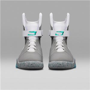 Nike Air Mag back to the Future nueva hococal Air Mag alta calidad de la edición limitada de retorno a los zapatos futuro guerrero zapatos de los hombres luminosos luminosos LED
