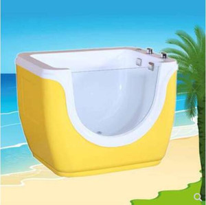1100X850X850mm Infant Baby Portable Spa Ozone Disinfection Acrylic Hydromassage Waterfall Kids Children Bathtub Popular Indoor SPA NS807