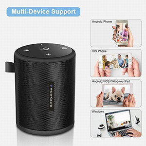 la red inalámbrica WIFI del bluetooth altavoz de 4 k cámara cámara de alta definición de la seguridad casera DVR mini reproductor de música