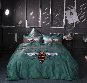 aaa + дизайнерская мода постельное белье 2020 наборы King Queen Size постельные принадлежности постельное белье 4шт одеяло обложка постельное белье наборы для мужчин и женщин 00