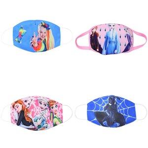 máscara de los niños dulces 3pc maske de los niños del humo de polvo purificador de aire PM2,5 cara mascarilla filtro de carbón Lay cara maskswashable y FA reutilizable