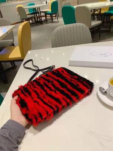 Female Bag é atingido Europeia moda colorida Joker restaurar antigas formas Saco de mão Contratadas Mink Único Shoulder Bag alta bolsa de qualidade