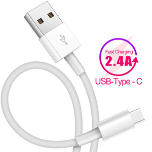 2.4A شحن سريع USB C كابل USB نوع C كابل لهواوي P30 برو USB-C لسامسونج S10 كابل بيانات Typec