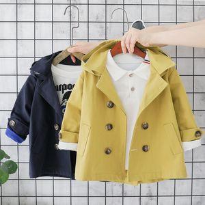 New kids outfits Boys clothes girls windbreaker jacket Korean version Autumn Winter 0-5 years baby kids B196