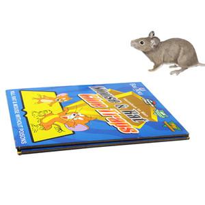 Mouse roditori colla trappole consiglio Super Sticky biacco Bugs Consiglio domestica topi di controllo prodotti appiccicosi mouse Consiglio Mousetrap DH1118 T03