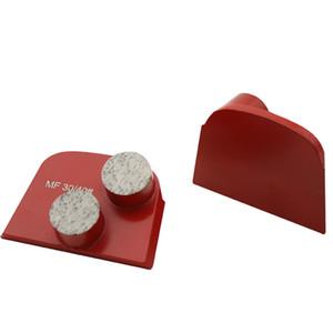 Алмазная Металл Бонд Lavina шлифовальный блок Абразивный Круглый Сегменты шлифовальные Lavina Два Батончики полировки Lavina Grinder 12PCS