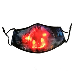 New Product LED Mask Light Up Party Masks Glow in Dark, Hot Sale Creative Great Funny Mask
