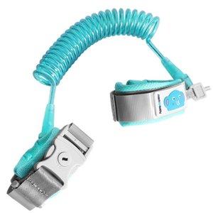 Anti-perdida Strap Pulseira de Segurança Crianças Ajustáveis Vermelho, Azul Tração Corda Pulseira 1.5 m / 59.06 polegada, 2 m / 78.74 polegada