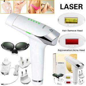 300000 impulsos de parpadeo - IPL depilación Sistema, 2 en 1 LESCOLTON Inicio eléctrica eliminación del dispositivo láser sin dolor Depiladora permanente del pelo para Wome