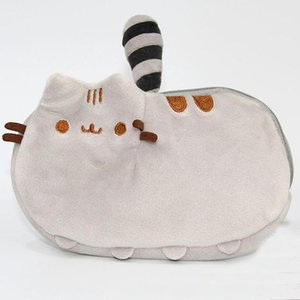 18*12cm Plush Purse Cat Stuffed Coin Purse Zipper Anime Mobile Phone Bag XMAS Birthday Party Favor Gifts in stock WX9-467